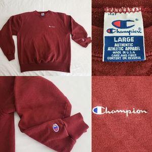 Vintage Champion Crewneck Sweatshirt Made in USA L